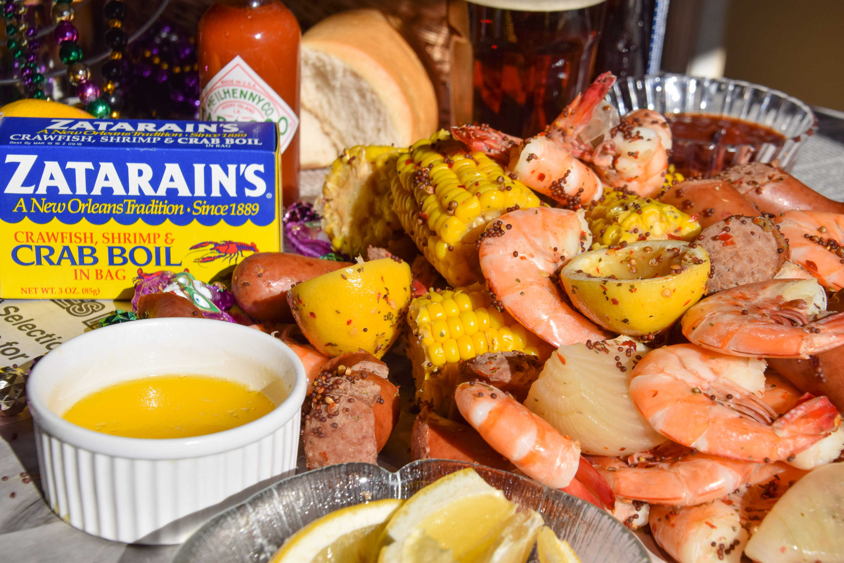 Panther's Tailgate Low Country Shrimp Boil to Go